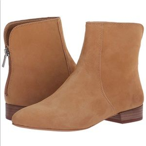 NEW Lucky Brand Glanshi Zip Up pointed toe Booties